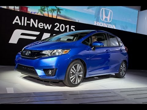 2015 Honda Fit First Look | Edmunds.com