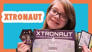 Family Game Night- XTRONAUT The Game of Solar System Exploration! Day 1257 | ActOutGames