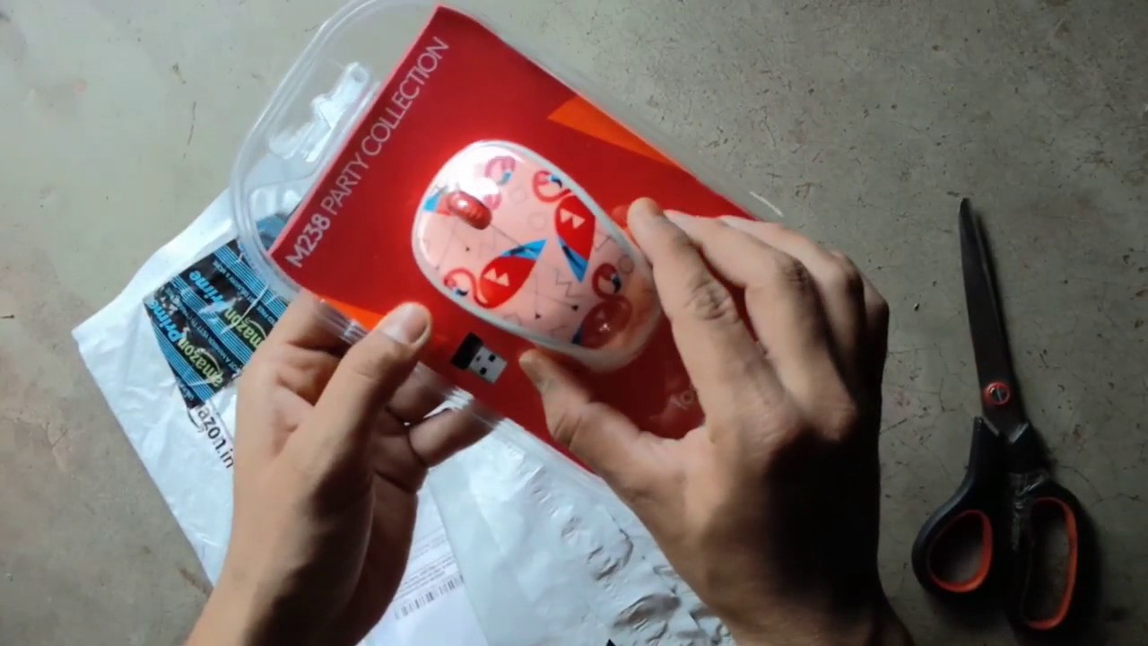 Logitech M238 Wireless Mouse Party Collection Flamingo Daftar Toucan Unboxing