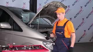 Смяна на предни и задни Макферсон на MERCEDES-BENZ VITO Bus (W639) - видео инструкции