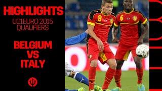 U21 U21EURO 2015 Qualification Belgium 0 1 Italy