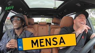Mensa - Bij Andy in de auto!