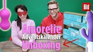 Wir packen den Amorelie-Adventskalender aus! | UNBOXING 🎁