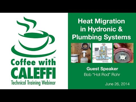 Heat Migration in Hydronic & Plumbing Systems