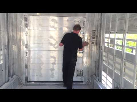 Pezzaioli Multi Lift Livestock Trailer