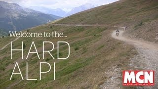Welcome to the Hard Alpi tour. 5 days. 39 hours without sleep. | Feature | Motor