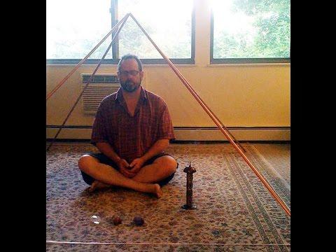 How to Build a Copper Pyramid, Meditation, Healing  DIY  Homemade