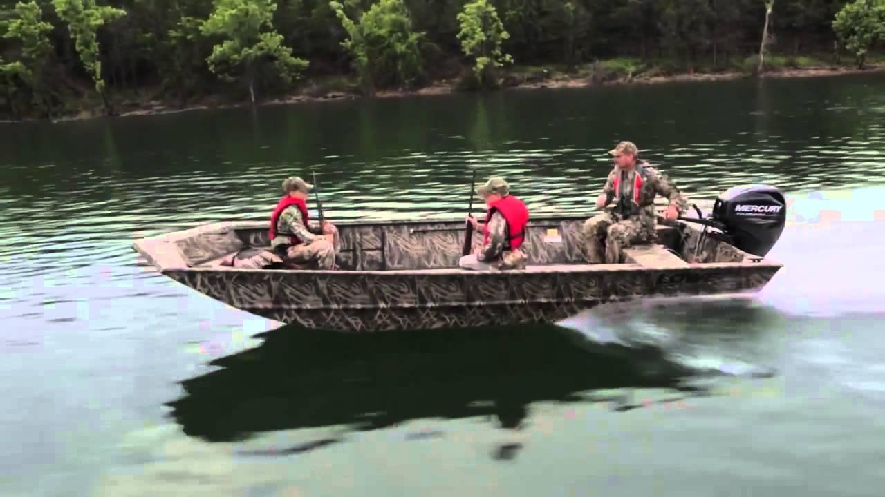 Lowe Boats - 2015 Roughneck Hunting & Fishing Jon Boats ...