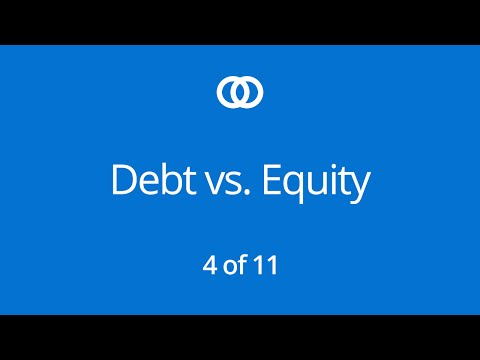 Understanding Debt vs Equity Financing (Part 4)