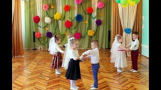 """Танец """"Жених и невеста"""" ДОУ №8 """"Малыш"""", г. Шахтёрск"""