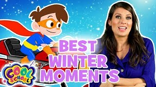 Best  Winter Moments! ❄️⛄Favourite Winter Stories & Adventures ❄️⛄Cartoons for Kids❄️⛄Cool School