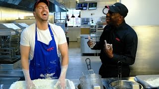 KFC Open Kitchen - Let the Paddy, see the chicken... thumbnail