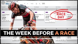 How to Taper, Wнat to Do the Week Before a Race