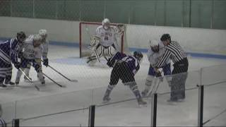 Acton Boxborough Varsity Boys Hockey vs Springfield Cathedral 2/7/12
