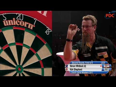 2017 Dutch Darts Masters Round 2 Whitlock vs Shepherd