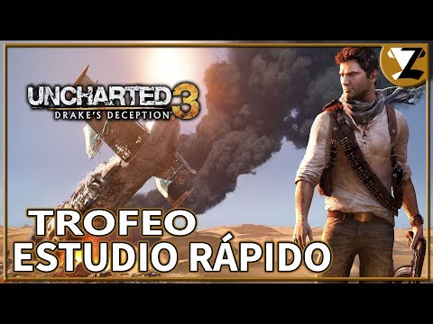 Uncharted 3: La Traición de Drake - Trofeo Estudio rápido (Quick Study)