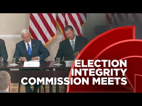#TrumpLiesMatter: Trump's Bogus Voter Integrity Commission Meets For The First Time