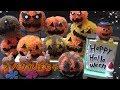 【DIY】かぼちゃボンボンの作り方(ハロインバージョン) How to make pumpkin bonbon (Halloween version)
