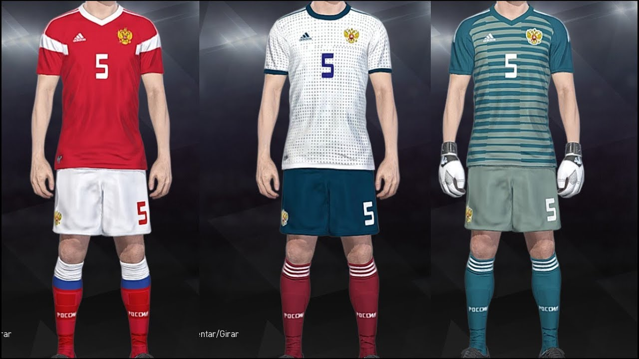 info for 053d0 0fbc1 PES 2018 - Kits Russia World Cup 2018 PS4,PC