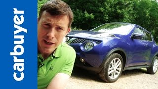 Zapętlaj Nissan Juke SUV 2014 review - Carbuyer | Carbuyer