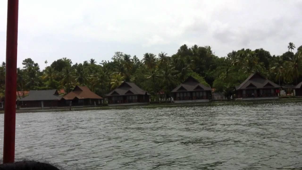 Ashtamudi Floating Cottages Youtube