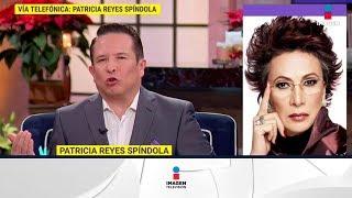 Patricia Reyes Spíndola trabajó en Frida con Salma Hayek...   De Primera Mano
