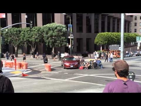 """Hollywood Comes to San Francisco to film """"San Andreas"""""""