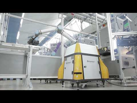 Collaborative robotics at Continental with safety solutions from SICK | SICK AG
