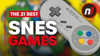 21 Best Super Ninтendo Games (SNES)