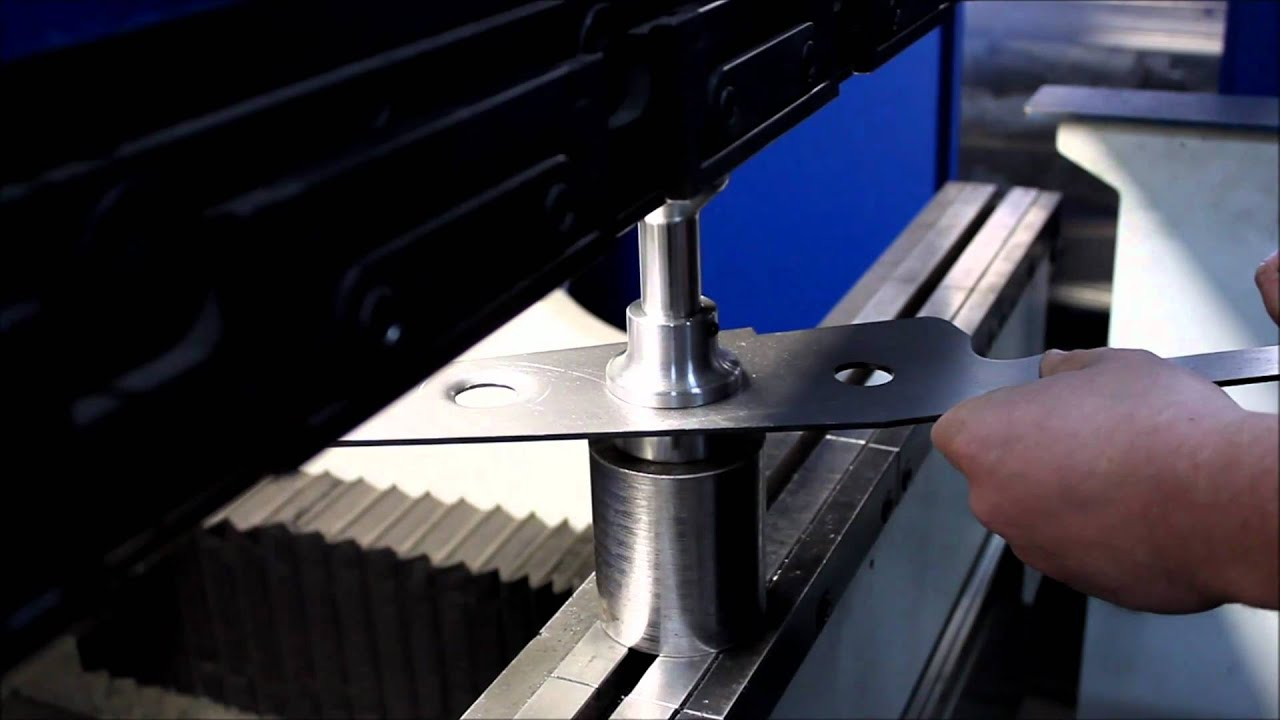 Ballistic Fabrication Press Brake Dimple Die Youtube