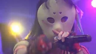 仮面女子とスチームガールズのラインライブです。 仮面女子の妄想劇場は...