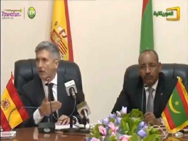 وزير الداخلية الإسباني يؤدي  زيارة عمل لموريتانيا| تقرير قناة الموريتانية