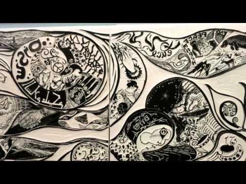 Peace Puzzle at Creative Framing & Gallery OAKLAND California