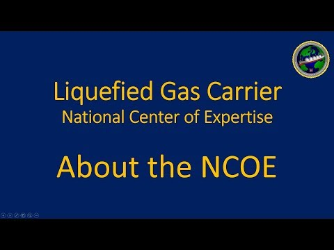 Liquified Gas Carrier: About the NCOE