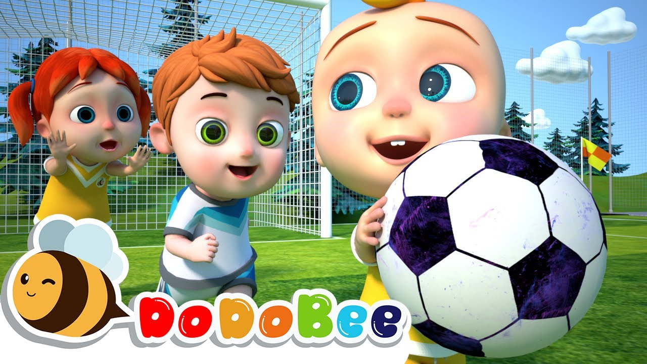 Soccer Song (Football Song) + More Nursery Rhymes & Kids Songs - Catoon for kids