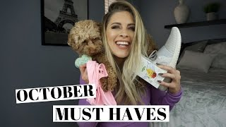 October FAVORITES | Fitness, Food & Beauty
