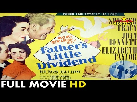 Fathers Little Dividend Horror Hollywood Movie | Spencer Tracy, Joan Bennett, Elizabeth Taylor