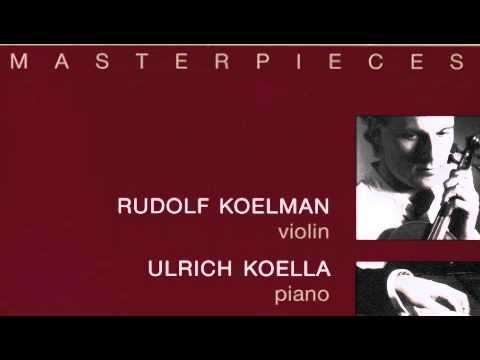 Menuet im Stile von Niccolo Popora Kreisler - Rudolf Koelman , Ulrich Koella