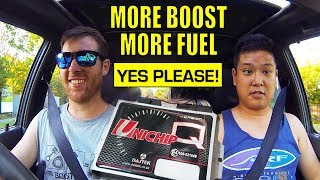 WE UNICHIP THE SURF! READY FOR ROUND 2 ON THE DYNO... ROAD TUNING THE 2L-TE