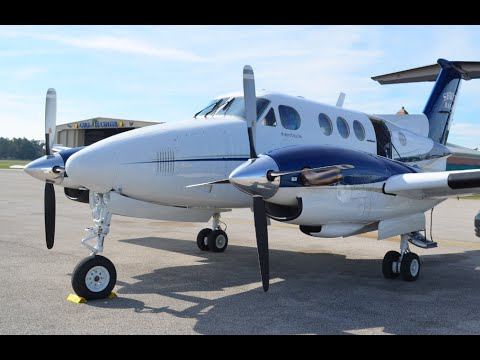 Corporate Flying: King Air F90 Flight From Pensacola To Jonesboro