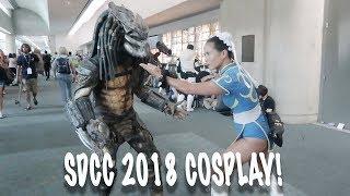 San Diego Comic Con 2018 Saturday Cosplay!