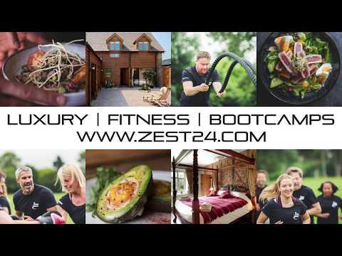 Zest24 Weight-loss & Fitness Bootcamp Retreats Promo