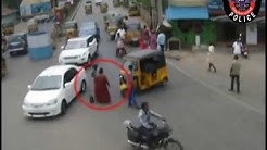 Accidents due to negligence of Auto drivers | Tirupati Traffic Police