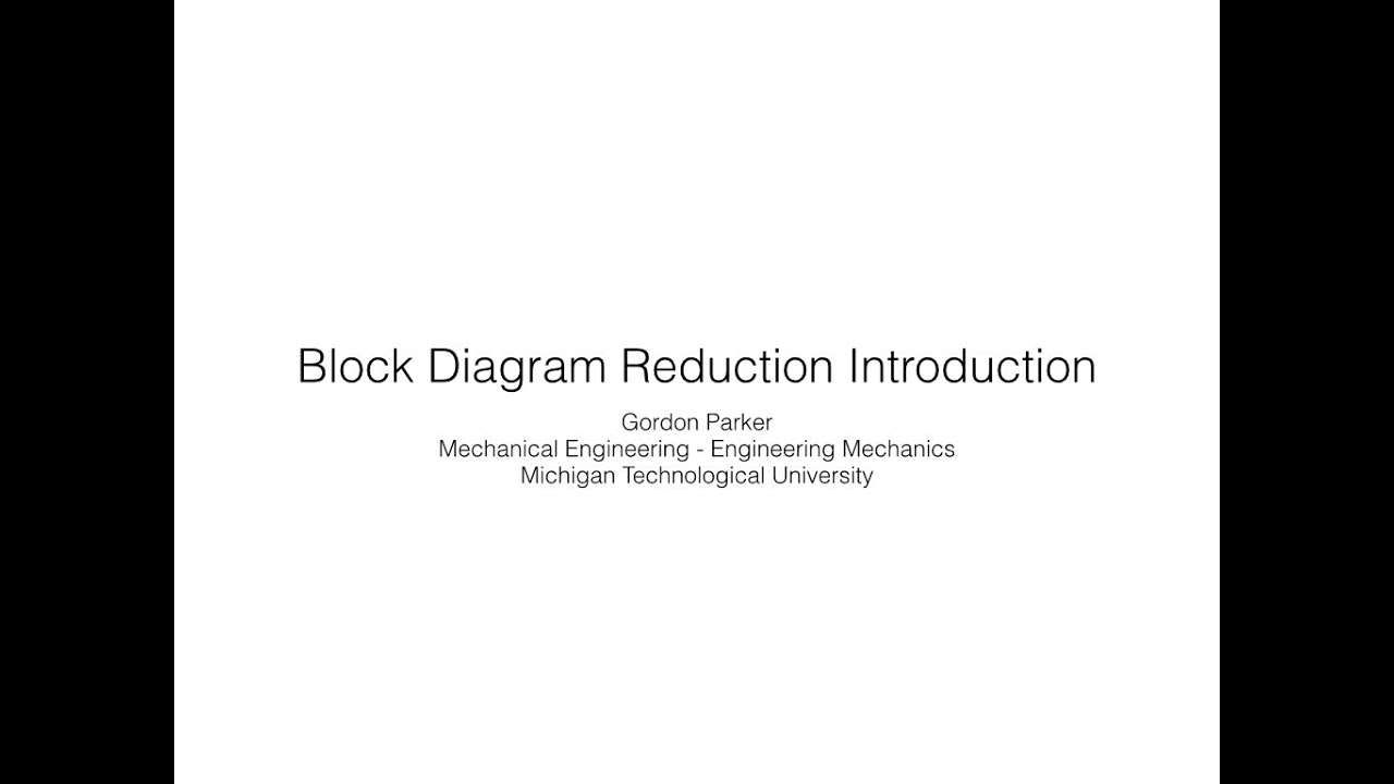 block diagram reduction introduction youtube rh youtube com Block Shape YouTube Block Shape YouTube
