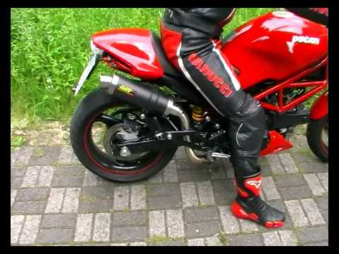 Ducati Monster Stock Exhaust