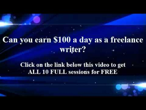 Can you earn $100 a day as a freelance writer?