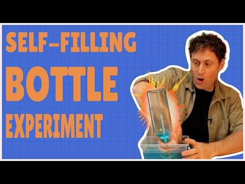 Self-Filling Bottle - Experiments for Kids