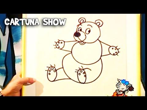 Cartuna Show 2. Bölüm Ayı Çizimi | Eğitici Çizgi Dizi