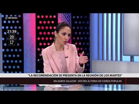 Fujimorista Milagros Salazar sobre indulto (Canal N)