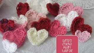 Chic and Cheap: Easiest Crochet Heart Tutorial thumbnail